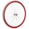 Framed Deep V Front Bike Wheel Red 700c