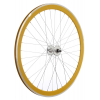 Framed Deep V Front Bike Wheel Yellow 700c