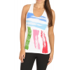Liquid Force Painted Stripe Tank Top White