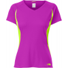 The North Face Reflex V-neck Shirt Magic Magenta/safety Green
