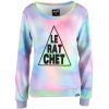 Neff Fog Crop Fleece Sweatshirt