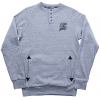 Ride Henley Crew Sweatshirt Charcoal Heather