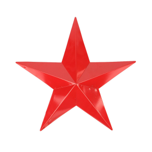 115 Scarlet Red Country Rustic Star Indoor Outdoor Wall Decoration In True Fashion Each Celestial Comes With Its Own Unique