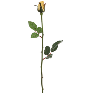 Sku Afc Fr2005 Ye Club Pack Of 48 Artificial Single Yellow Rose Bud