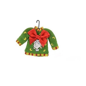 """Department 56 Ugly Sweater Collection """"Cindy Lou Who"""" Green Christmas Ornament"""