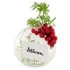 Flower Vase Place Card Holders (Set of 4)