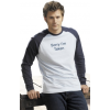 Navy Blue Long Sleeve Raglan Shirt