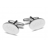 Personalized Silver Executive Cuff Links