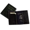 Slim Executive Leather Passport Wallet