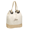 Canvas Straw Eco Friendly Tote Bag