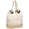 Eco-Friendly Cotton Canvas Straw Shopping Bag