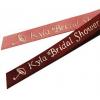 Bridal Shower Personalized Ribbons (50 precut pcs.)