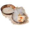 Coconut Shell Beach Starfish Candle Favor