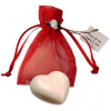 Heart Soap in Organza Bag