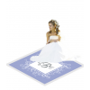 Fancy Royal Floor Label Wedding Decal