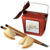 Lucky Red Takeout Box & Japanese Chopsticks