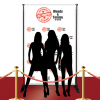 Custom Red Carpet Just Married Banner