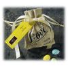 Vintage Jute Drawstring Candy of Love Favor Bag