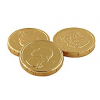 Gold Foiled Chocolate Quarters (1 pound)