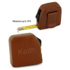 10'Ft. Square Brown Leather Tape Measure