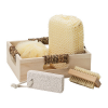 Personalized Wooden Spa Set