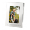 """4"""" x 6"""" Engraved Silver Picture Frame"""