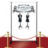 Mr. & Mrs. Custom Red Carpet Wedding Banner
