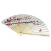 Cherry Blossom Asian Bamboo Fan