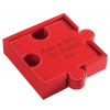 The Perfect Fit Leather Puzzle Coasters (Set of 6)