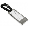 Engraved Silver Luggage Tag