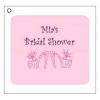 Bridal Shower Favor Cards (40 Precut Pieces)