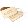 Personalized Wooden Tag