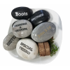 You Rock!' Paper Weight Personalized Engraved Natural Beach Stone