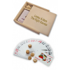 Personalized Wooden Box Poker Card Set
