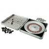 Mini Travel Roulette Wheel Game in Silver Case