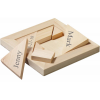 The Perfect Fit Bride & Groom Wood Puzzle