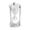 Personalized Silver Hourglass