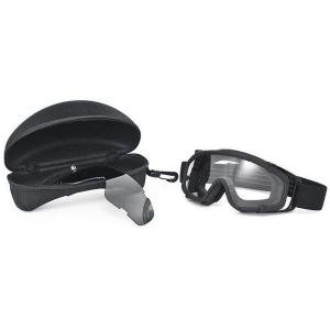 Oakley SI Ballistic Goggles - Black Frame w/ Clear/Grey Lens