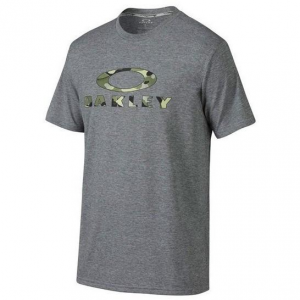 Oakley O Stealth Tee in Heather Grey