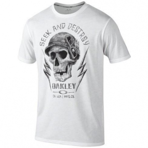 Oakley O-Seek And Destroy Tee in White