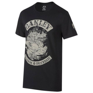 Oakley Search and Destroy Tee in Jet Black