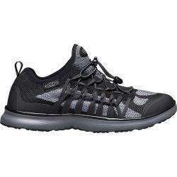 Keen Men's Uneek Exo Shoe - 9.5 - Black / Steel Grey