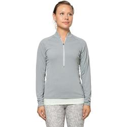 GoLite Women's RePlay 1/2 Zip - Large - Gull