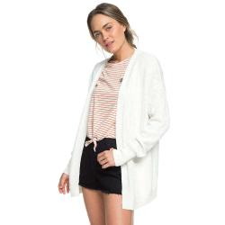 Roxy Women's Valley Shades Cardigan - Large - Marshmallow