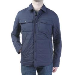 Woolrich John Rich & Bros. Men's Comfort Shirt Jacket - Small - Classic Navy