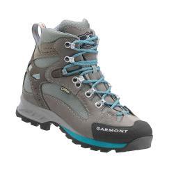 Garmont Women's Rambler GTX Boot - 7.5 - Warm Grey / Aqua Blue