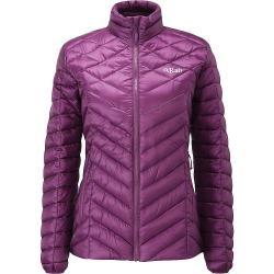 Rab Women's Altus Jacket - XL/16 - Berry / Mimosa