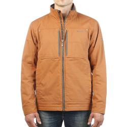 Moosejaw Men's Cadieux Insulated Canvas Jacket - Large Tall - Cinnamon