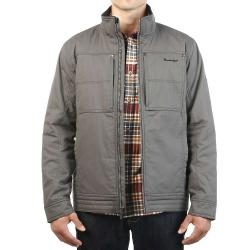 Moosejaw Men's Cadieux Insulated Canvas Jacket - Small - Smoke