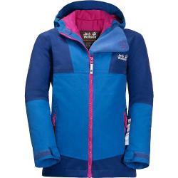 Jack Wolfskin Kids' Snowsport Jacket - 3 - 4 yr - Coastal Blue